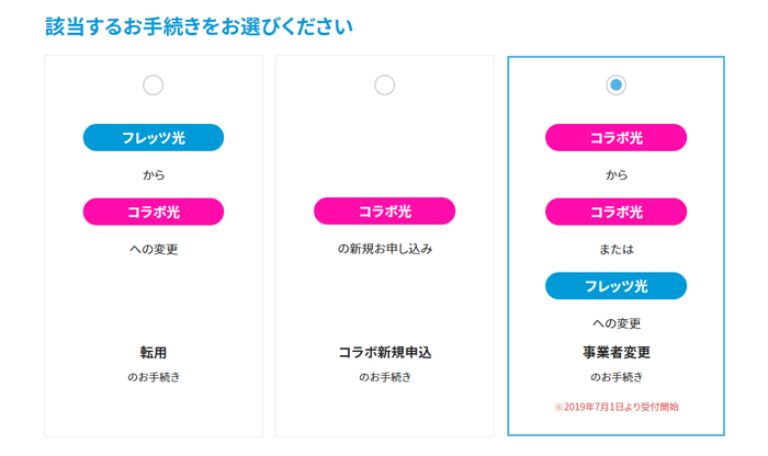 NTTの事業者変更承諾番号の窓口